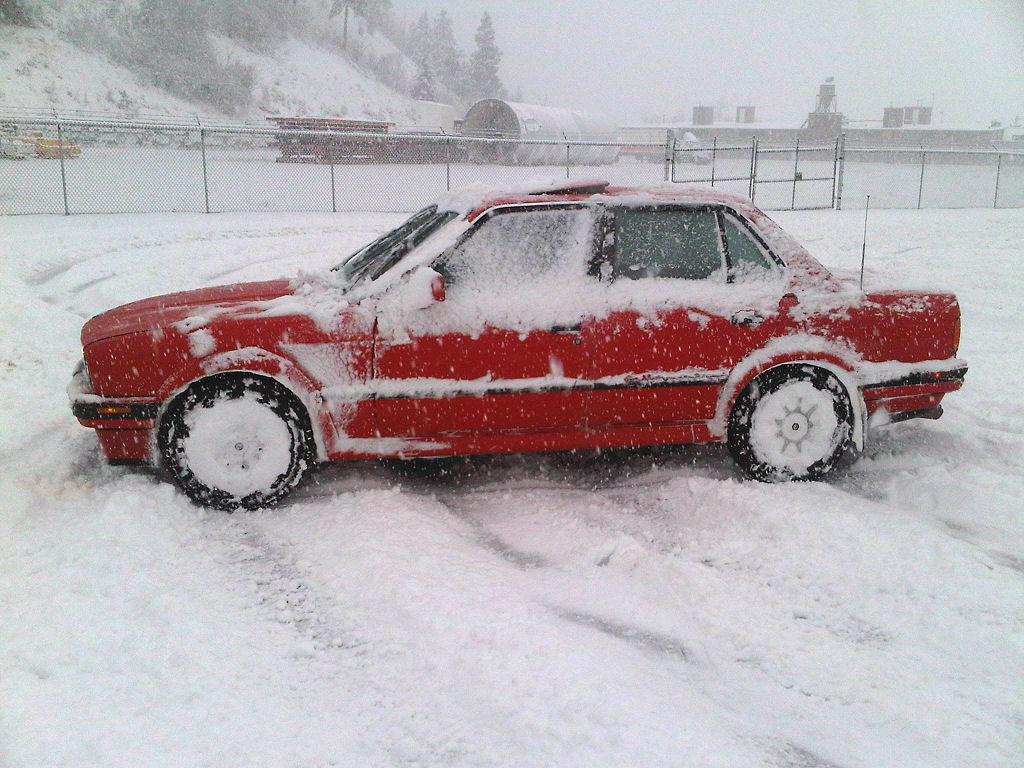 Snow bmw e30 325ix wallpaper | (156)